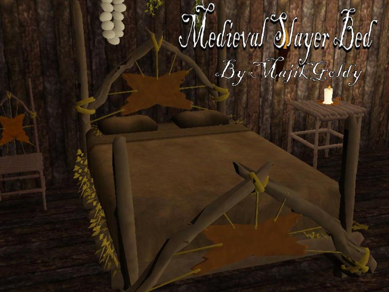 majikgoldys medieval slayer bed