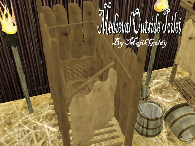 MajikGoldys Medieval Outside Toilet