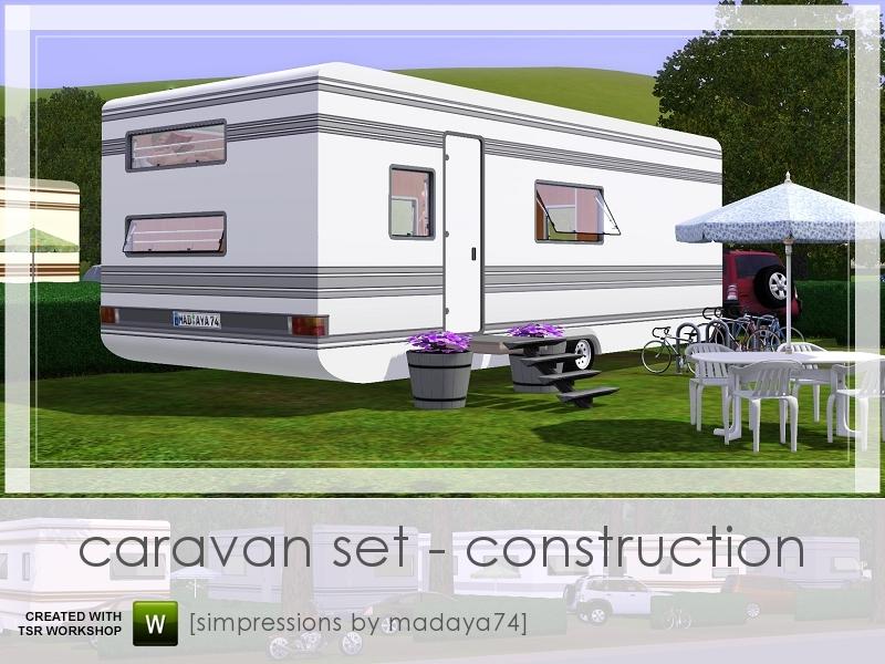 madaya74's Caravan Set - Construction