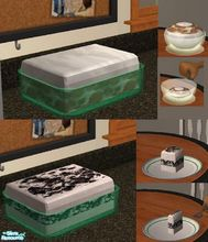 Sims 2 — 2 No Bake Desserts by TheNinthWave — Both of the desserts are fully animated. Both of the dessert meals require