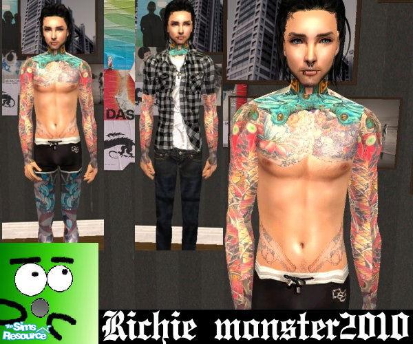 Realistic Tattoo Skin2
