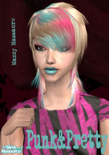 Mazzy Massacre S Quot Punk Amp Pretty Quot Scene Hair