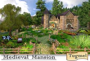 Sims 3 — Residence-23 - Full Furnished by TugmeL — Medieval Mansion **Requires; World Adventures, Ambitions, Late Night