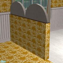 Sims 2 — Summer In Paradise Set - Half Wall by TheNinthWave — Summer in Paradise half wall. This requires Nightlife,