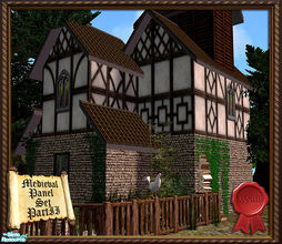 Sims 2 — Medieval Panel Set PartII by ayyuff — Cost:2