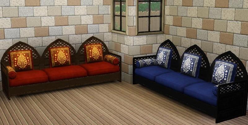 Sims 2 Moroccan Sofa ...