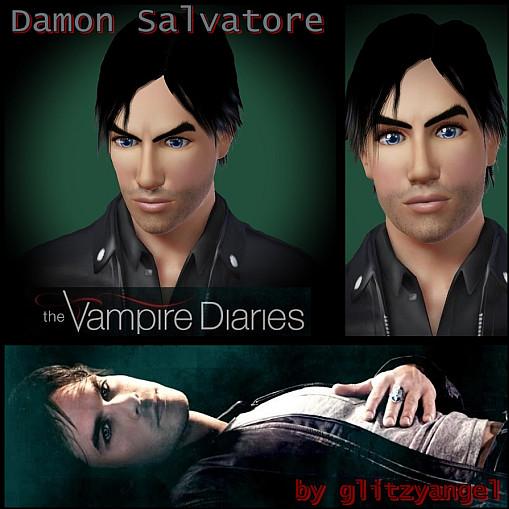 glitzyangel s damon salvatore the vampire diaries