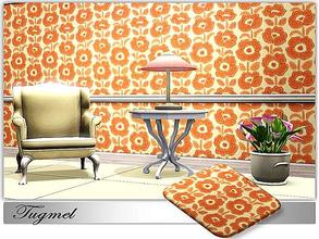 Sims 3 — Abstract-Ptn-37 by TugmeL — Tgm-Pattern-37 Recolorable Palettes 4 By TugmeL@TSR