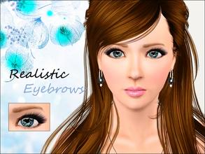 Sims 3 — Realistic Eyebrows  by steadyaccess — Realistic Eyebrows!))