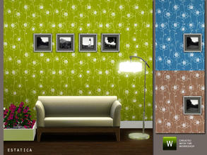 Sims 3 — Jove Flower Pattern by estatica — A nice pattern to decorate your home. Feel free to include in your houses at