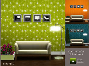 Sims 3 — Jove Pattern Set by estatica — A set of 3 patterns to decorate your home. Feel free to include in your houses at
