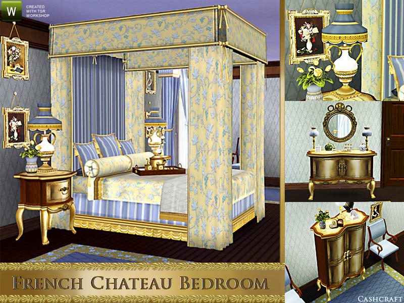 cashcraft\'s French Chateau Bedroom