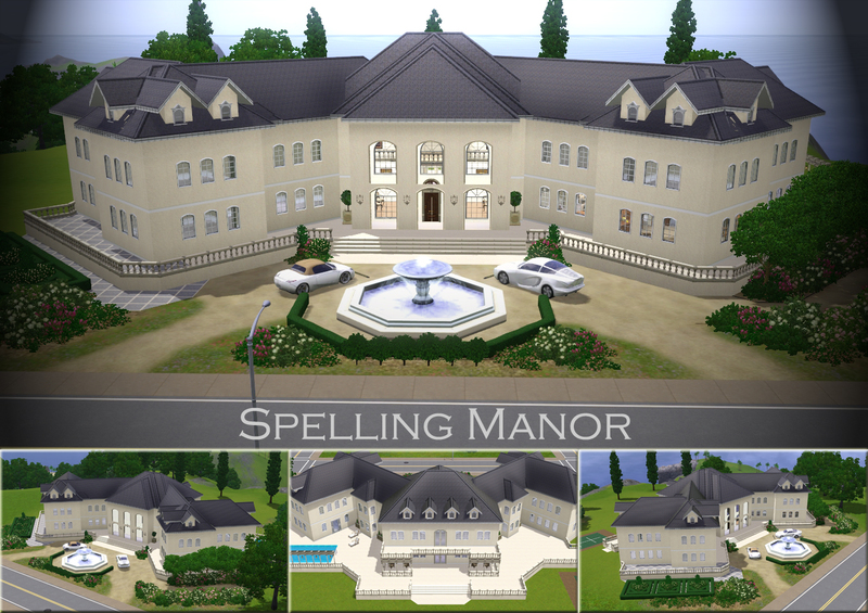 Demented Designs' Spelling Manor The Sims Resource