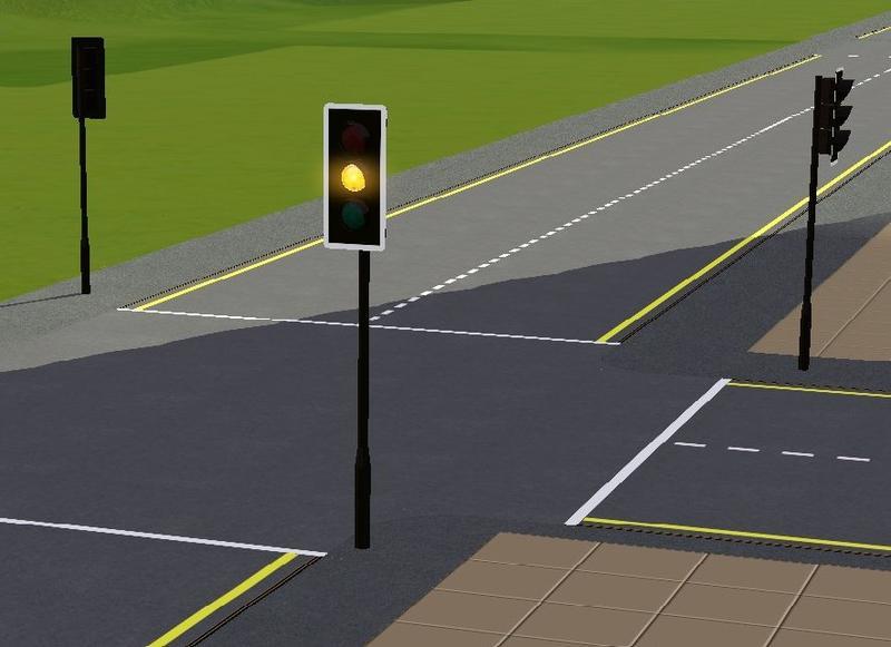 flashing yellow traffic light - photo #29