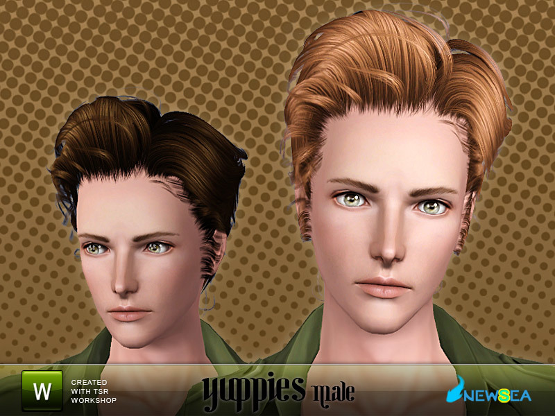 Newsea Yuppies Male Hairstyle