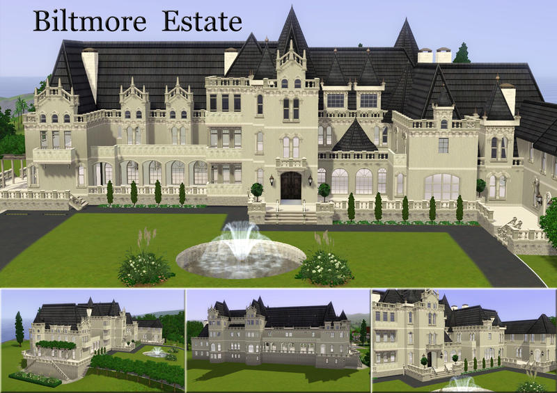 1051016 on Sims 3 Mansion Floor Plans
