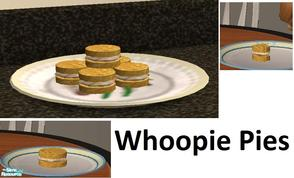 Sims 2 — Whoopie Pies by TheNinthWave — This is an old Lancaster, PA favorite. It\'s Whoopie Pies! I don\'t know the