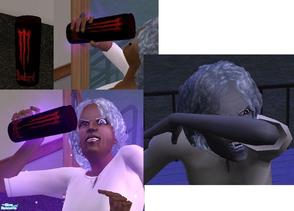 Sims 2 — Bloodthirst! Energy Drink by TheNinthWave — This will surely turn your sim into a vampire if they drink it. Be