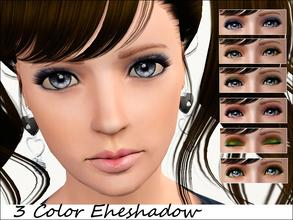 Sims 3 — 3 Color Eyeshadow *type fixed* by steadyaccess — 3 Color Eyeshadow for females and males from teen to elder!