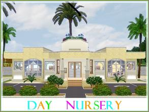 Sims 3 — Day Nursery by lilliebou — Hi ! This community lot is a day nursery for your babies, toddlers and children. It