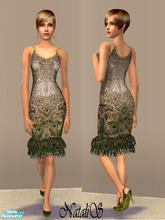 Sims 2 — NS formal collection FA 1 -item 2. by Natalis — New mesh for adult female and various recolors.