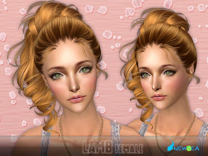 Newsea sims2 hair j048f lamb - Sims 2 downloads mobel ...