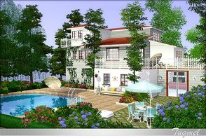 Sims 3 — Residence-25 - Full Furnished by TugmeL — No Expansion Packs Required! Only Base Game, **Needs latest patch** My