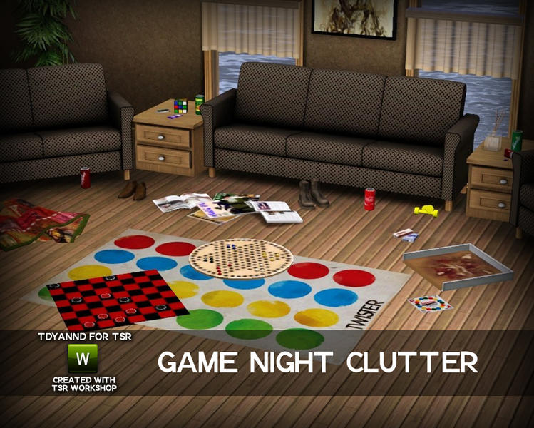 Tdyannd S Game Night Clutter