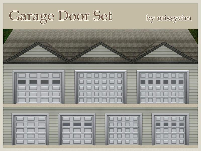 Missyzim S Garage Door Set