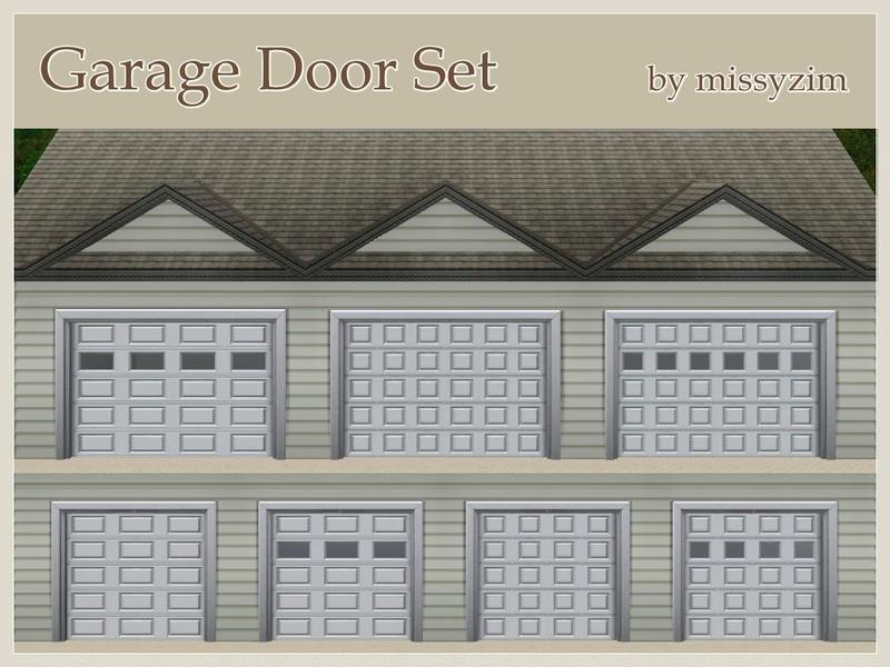 Missyzim S Garage Door Set