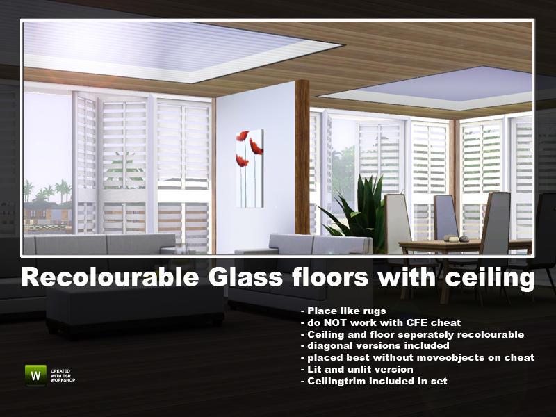 Angela S Glass Floors Recolourable