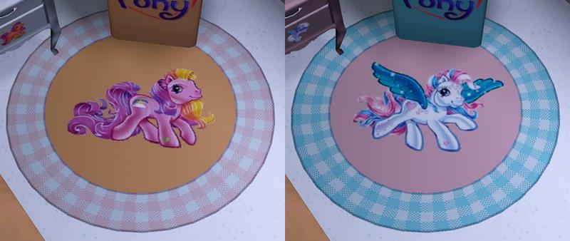 Lovely My Little Pony Rug