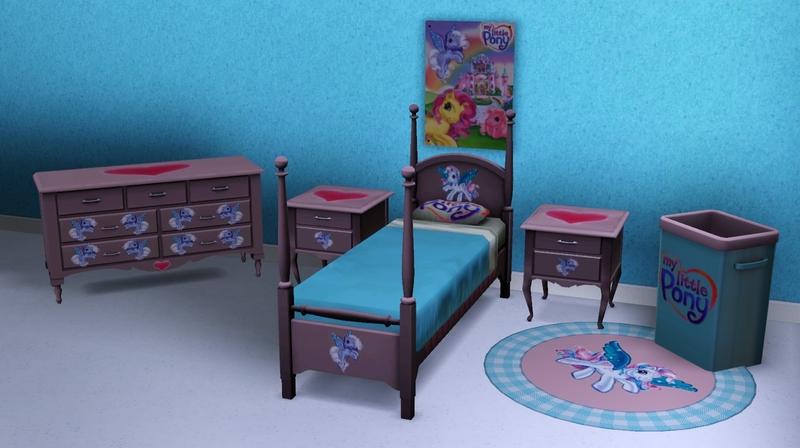 jezebel_the_nun's my little pony bedroom set