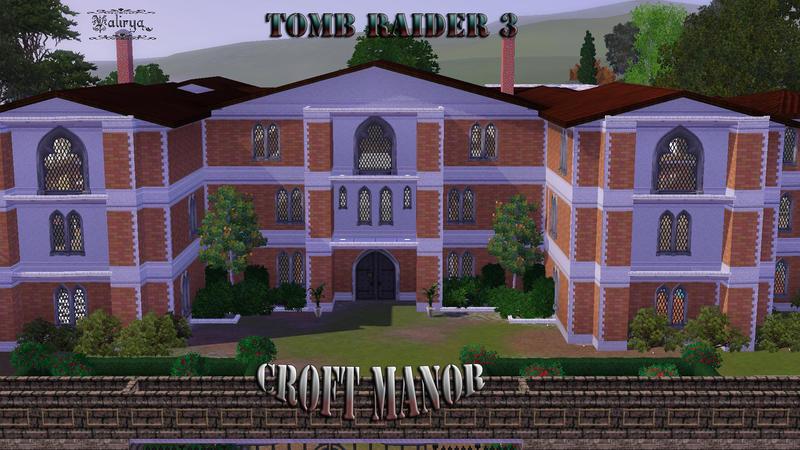 123valy's Lara Croft Manor