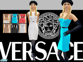 Sims 2 — Versace Fall Winter 2007 Part 1 by lemonloveshane — Versace F/W 2007 is believed to be one of Donatella\'s best
