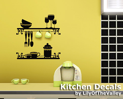 Lilyofthevalley S Kitchen Decals