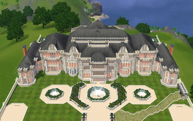 the sims mansion and garden stuff