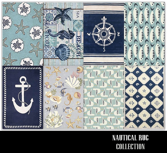 Nautical Rug Collection