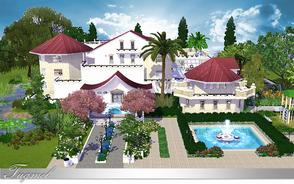 Sims 3 — Residence-26 - Full Furnished by TugmeL — This is a big villa and Full Furnished! Lot Size 60x60 Its completely