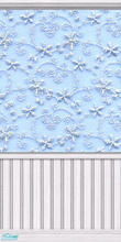 Sims 2 — Blue Chiffon by Lil-Kiki — This delicate pastel wallpaper is perfect for a bedroom, It brings a calm atmosphere