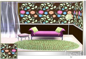 Sims 3 — Abstract Pattern-42 by TugmeL — Tgm-Pattern-42 Recolorable Palettes 4 by TugmeL-TSR