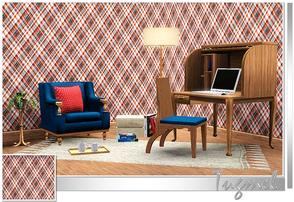 Sims 3 — Geometric Pattern-45 by TugmeL — Tgm-Pattern-45 Recolorable Palettes 1 by TugmeL-TSR
