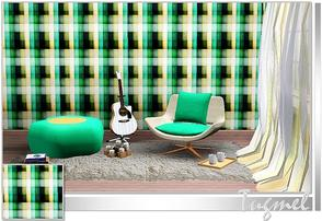 Sims 3 — Geometric Pattern-56 by TugmeL — Tgm-Pattern-56 Recolorable Palettes 1 by TugmeL-TSR