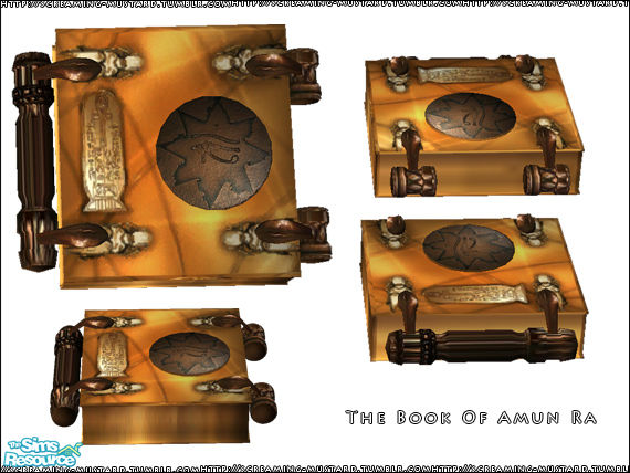 book of amun ra real