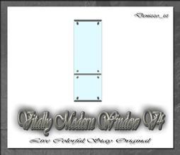 Sims 3 — Vitally Modern Window V4 by denizzo_ist — 12 New Meshes Vitally Modern Window and Door Set 2 Recolorable parts I