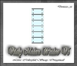 Sims 3 — Vitally Modern Window V5 by denizzo_ist — 12 New Meshes Vitally Modern Window and Door Set 2 Recolorable parts I