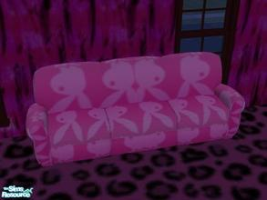 5 Pink Punk Couches   Playboy Bunny