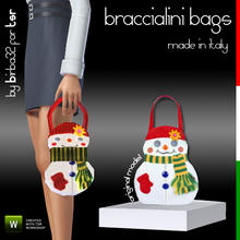 Sims 3 — Braccialini Bag - The Snowman by Birba32 — Braccialini is a well known Italian brand that produces themed bags.