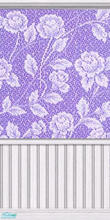 Sims 2 — Lilac Lace Pattern by Lil-Kiki — This is a calming and relaxing pattern that will suit any room. Enjoy!