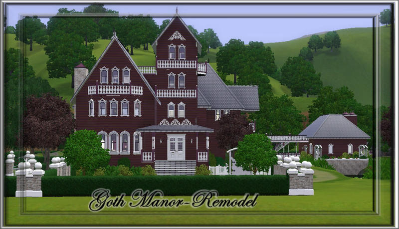 JCIssette's Goth Manor Remodel